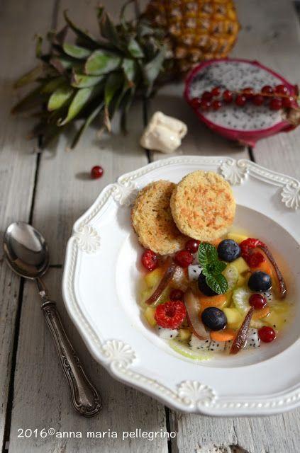 La zuppa dolce di frutta