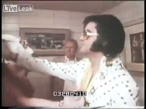 *Rare* Footage of Elvis Throwing Water in a Man's Face - YouTube