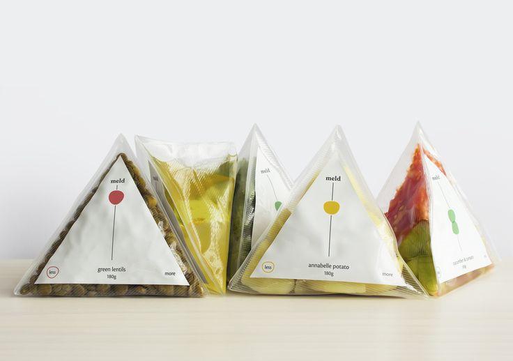 2015 CWWWR AWARD WINNER: 1st PLACE, Fresh & Prepared Food - Meld — The Dieline - Branding & Packaging