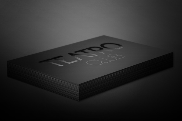 TEATRO CLUB by Boutik Marketing , via Behance