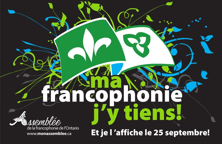 The first Franco-Ontarian Day was celebrated on September 25th, 2010. The Franco-Ontarian Day Act was adopted unanimously by the Legislative Assembly.