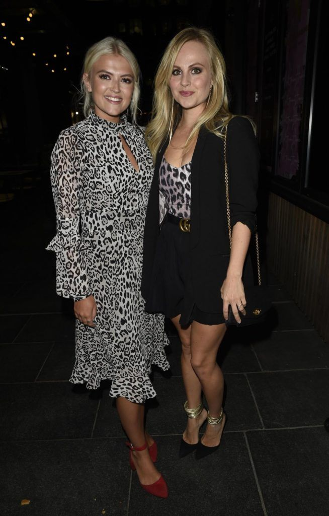 Lucy Fallon And Tina Obrien Soigne Make Up Brush Launch In Manchester Https Ift Tt 2okcgnb Leopard Print Top Fashion Coronation Street Actors