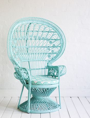 How To Paint Wicker Furniture Pinterest