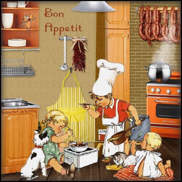 les petits cuisiniers                                                       …