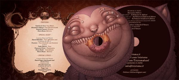 Digipak for Tristema by Felideus Bubastis, via BehanceFelideus Bubasti, Design Toys, Covers Design, Design Concept, Character Design, Creative Illustration, Art Fantasy, Covers Art, Dark Gallery