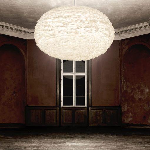 White Feather Pendant Lampshades Primrose Plum Pendant Lamp Shade Feather Lamp Large Pendant Lamp