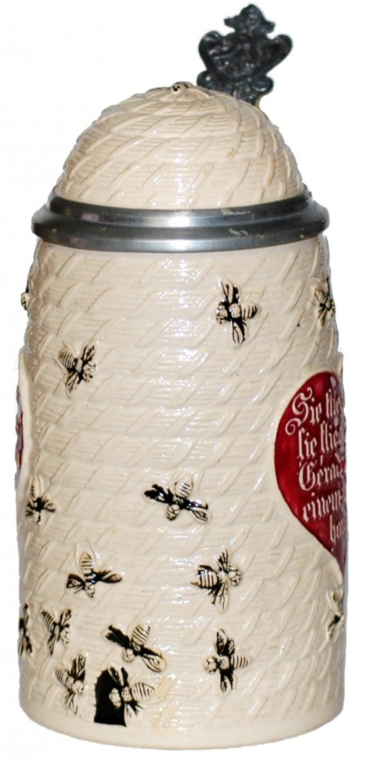Beehive Character Stein..  Love the graphics