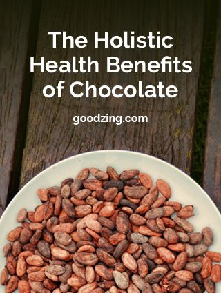 The holistic health benefits of chocolate - include boosting your immune system naturally! Chocolate and health. What is not to love
