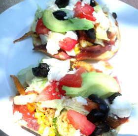 Grilled vegetables, Tostadas and Vegetables on Pinterest