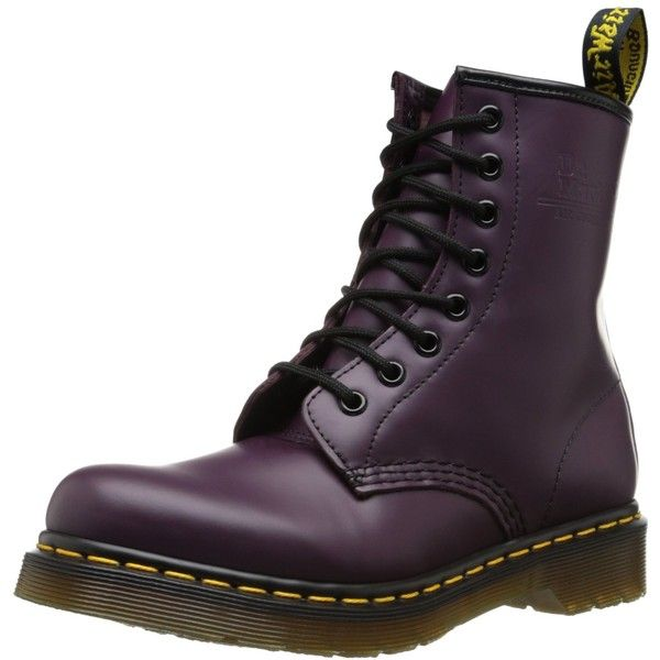 Dr. Martens Women's 1460 Re-Invented 8 Eye Lace Up Boot ($85) ❤ liked on Polyvore featuring shoes, boots, dr martens shoes, dr martens boots, dr martens footwear and dr. martens
