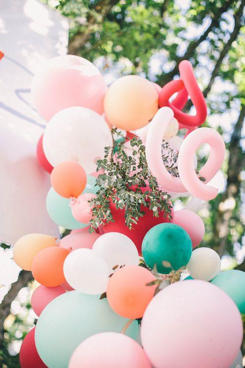 Balloon installation