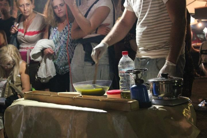 Seminar on how to make soap from Olive oil