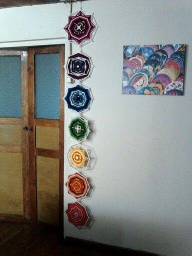 .Mandala - ojo de dios -chakras