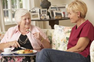 Mealtimes can be extremely challenging when you are on an elderly care journey with a senior coping with Alzheimer's disease. These seniors often do not have as strong of appetites as they once did, may forget the importance of eating or think that they already have, or have changing tastes that make it difficult for you to find foods that they are willing to eat.