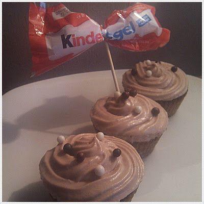 wunderbare Fantasie: Kinderriegel-Cupcakes