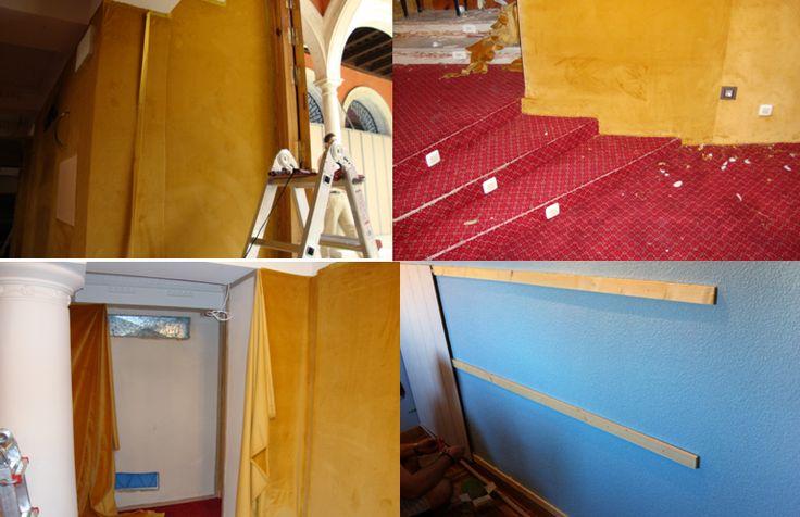 34 best tapizados de paredes en hoteles images on - Tejidos y novedades paredes ...