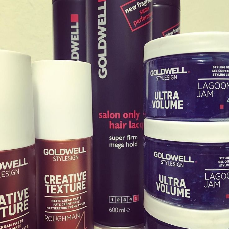 We love our #Goldwell styling collection... #paste #gel #lacquer #onlyhere #a4bgr