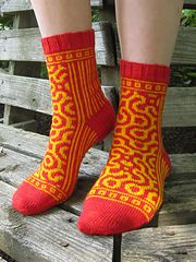Ravelry: Roll the Bones pattern by Kirsten Hall