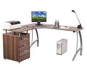 Eckschreibtisch Winkelschreibtisch - HJH Büroschreibtisch › http://www.eckschreibtisch-vergleich.com/hjh-office-673410-eckschreibtisch-bueroschreibtisch/