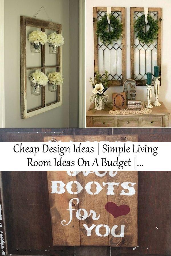 Cheap Design Ideas Simple Living Room Ideas On A Budget Diy House Decor Cheap In 2021 Trending Decor Simple Living Room Living Room On A Budget Diy cheap living room decor