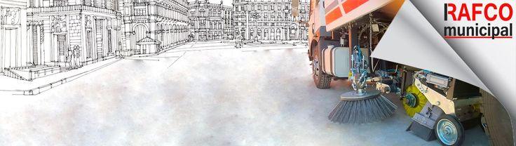 Rafco Municipla Vacuum Road Sweeper