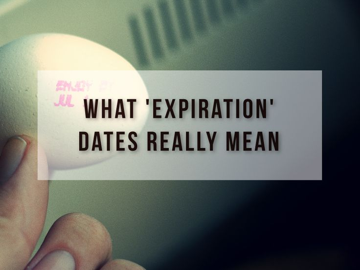 "Confused by food expiration dates? So were we! Here's a handy guide about what a ""use by"" date REALLY means …"
