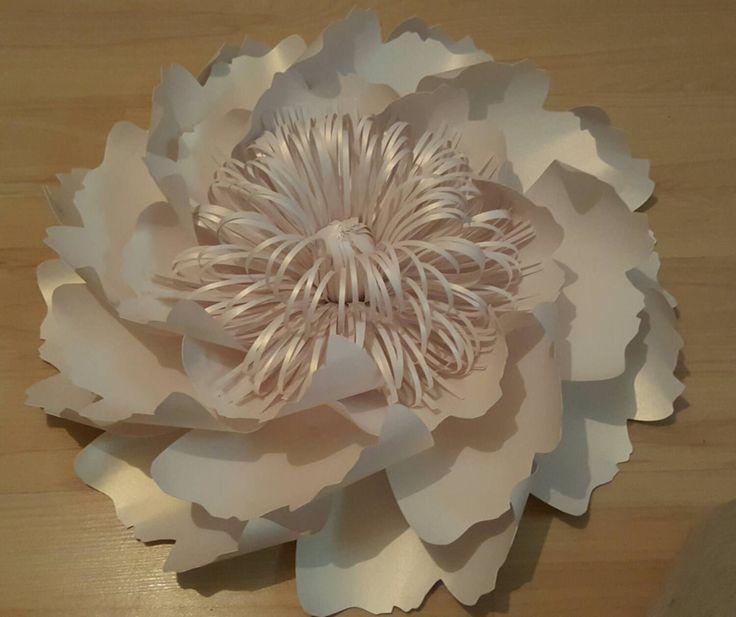 Parete sullo sfondo-carta fiore gigante di WPaperFlowerDesign