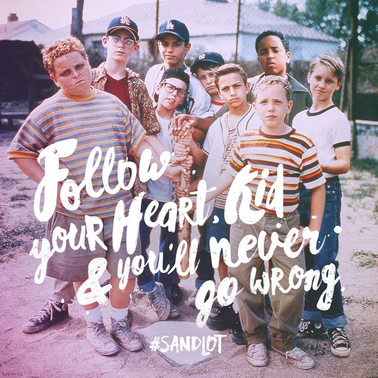 This year, knock your goals out of the park! New Year's Inspiration - 2017 - The Sandlot - Movie Quotes