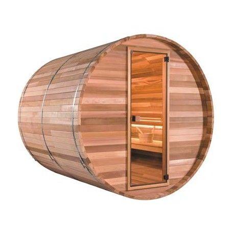 Sauna d'extérieur Tonneau VapoGarden 300 - 6 places