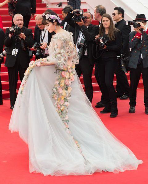 The best of the 2015 Cannes Film Festival red carpet: Fan Bingbing in Marchesa.