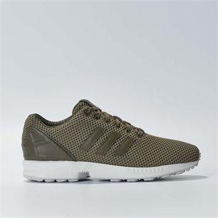 Adidas ZX FLUX, Green, medium
