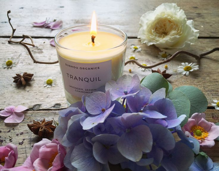 'Tranquil' composition for www.sushouorganics.com www.5ftinf.com