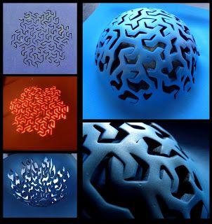 Morfología y Fabricación Digital: Cortes láser