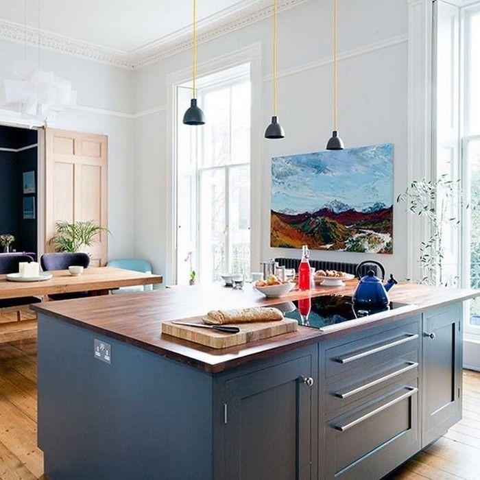 Nett Blau Küche Spur Beleuchtung Fotos - Küchen Ideen - celluwood.com
