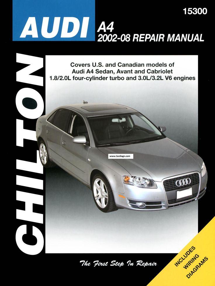 2002-2008 Audi A4 Sedan, Avant