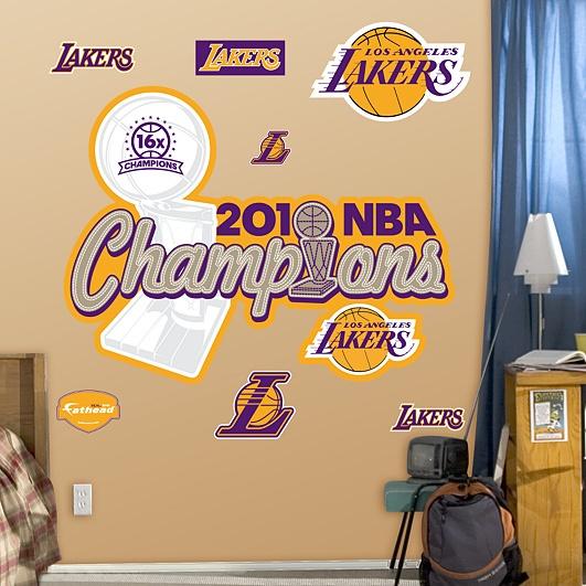 Los Angeles Lakers 2010 NBA Champions Logo