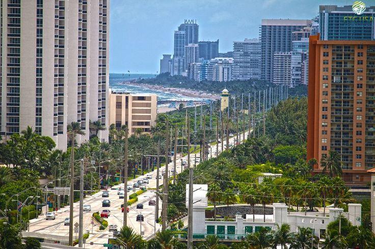 Miami, Майами, небоскребы Майами