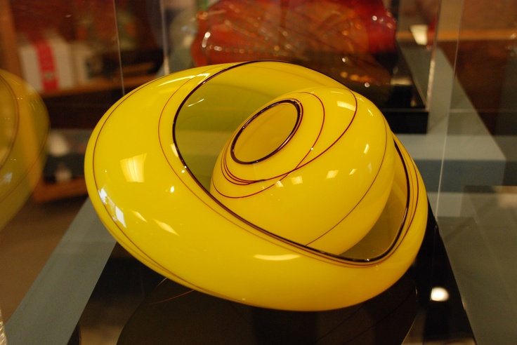 Chihuly glass, Studio Edition, Delaware Art Museum Store. Jasmine Basket from Chihuly Workshop.