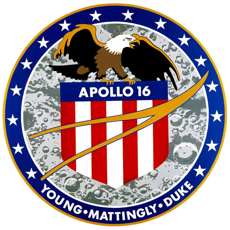 Launch- April 16, 1972  Landing- April 27, 1972 Astronauts- John W. Young, Charles M. Duke Jr. and Thomas K. Mattingly II Apollo 16 had a couple display malfunctions as well as some telemetry problems that forced the mission to be shortened by one day. However the astronauts were able to collect 209 pounds of moon rocks and drove 16.6 miles in the rover.  www.nasa.gov/mission_pages/apollo/missions/apollo16.html#...