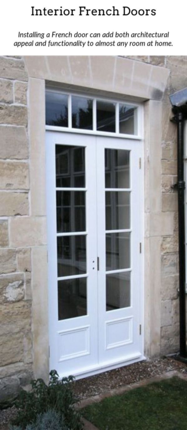 French Doors Add A Touch Of Refinement To Your Home With The Help Of Interior Or Exterior Frenc French Doors Exterior Narrow French Doors Outdoor French Doors