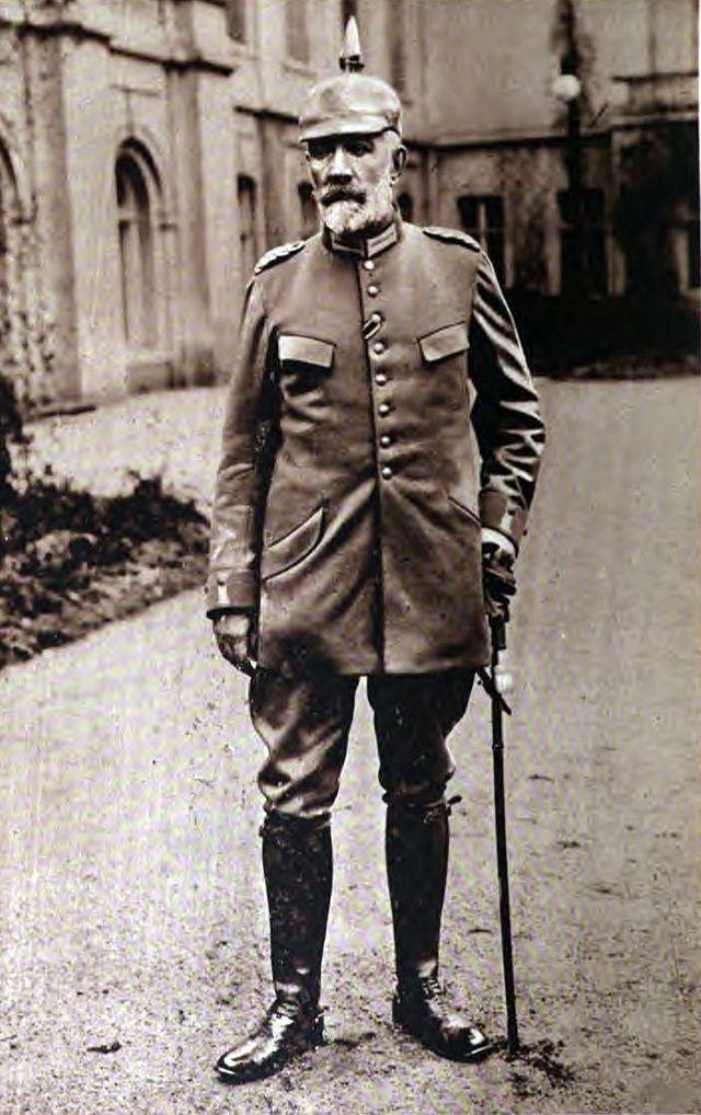 Theobald von Bethmann-Hollweg in uniform, 1915