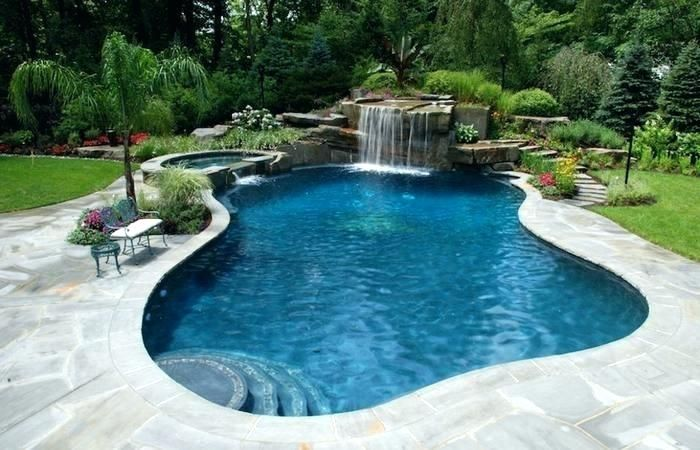 Hillside Pool Ideas Swimming Pool Designs Medium Size Pool Ideas And Prices Popular Of Backyar Inground Pool Designs Backyard Pool Designs Small Backyard Pools