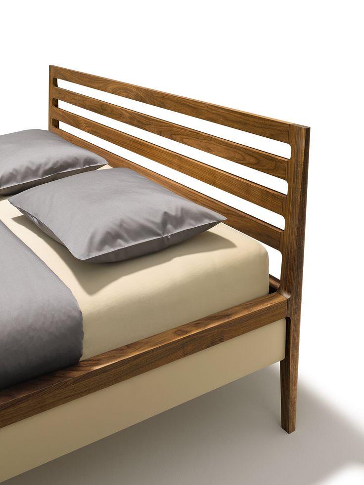 whether itu0027s a slim headboard upholstered in fabric or leather or an elegant slatted headboard made
