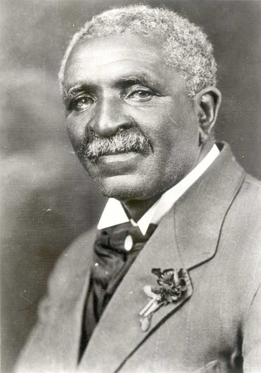"George Washington Carver - (1864-1943) - An American scientist, botanist, educator, and inventor, recognized for his many achievements and talents. In 1941, Time magazine dubbed Carver a ""Black Leonardo da Vinci."" (He was also a very kind man.)"