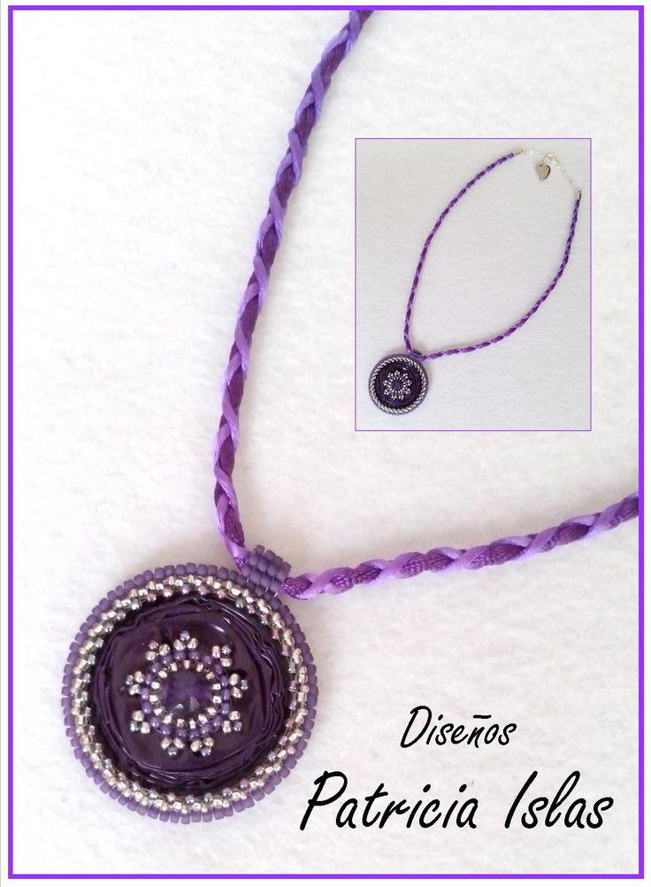 Necklace with Nespresso capsule pendant, seed beads and agate.