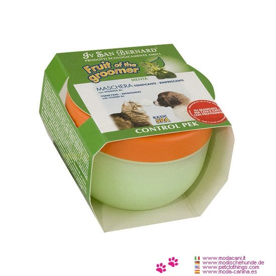 Acondicionador de Pelo para Perro fragancia de Menta - Acondicionador de Pelo para Perro fragancia de Menta: Mascara vigorizante reparadora con Vitamina B6: este balsamo es Tonificante y Refrescante
