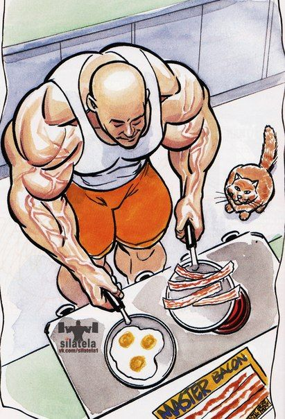 Рецепты высоко-белковых блюд для Спортсменов