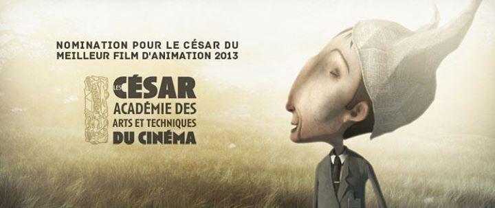"""""""Edmond était un âne est nominé pour le César du meilleur film d'animation 2013 ! / Edmond was a donkey nominated for the César of best animation film !""""       Courtesy: Franck Dion, Paris (France)."""
