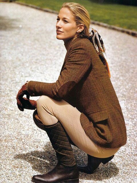 Classic style - perfect country attire #fashion & #style                                                                                                                                                                                 More