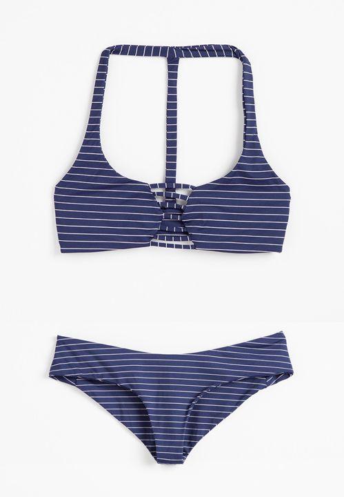 Margot the Mess Top + Yaya the Yuppy Bikini Pant in UNCLE SAM #boysandarrows